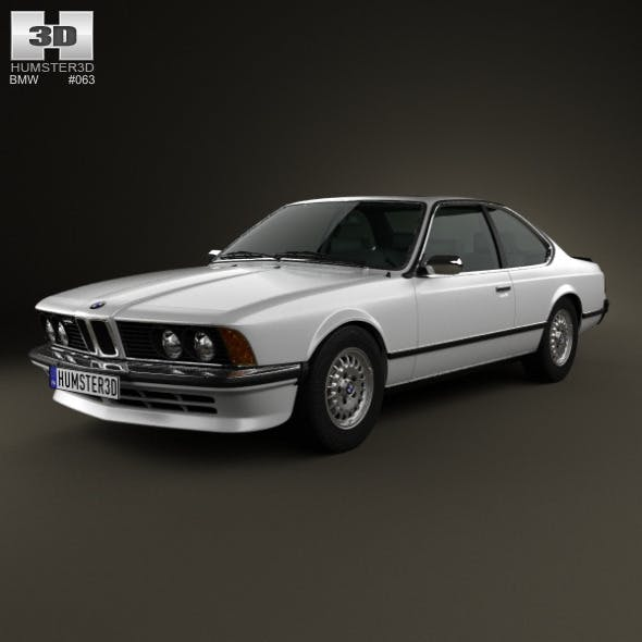 BMW 6 Series (E24) 1978 - 3DOcean Item for Sale