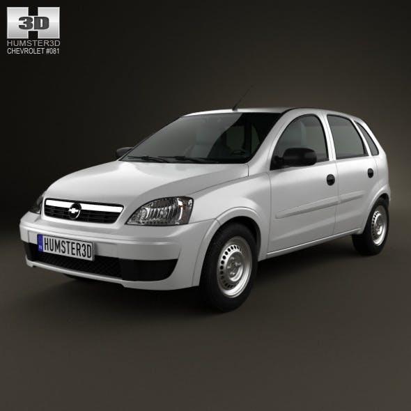 Chevrolet Corsa 5-door hatchback 2012 - 3DOcean Item for Sale