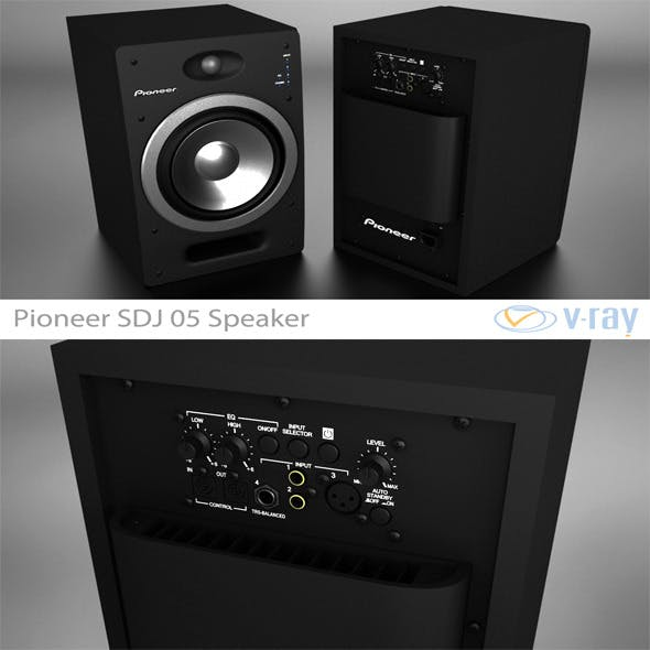 Pioneer S-DJ05 Speaker - 3DOcean Item for Sale