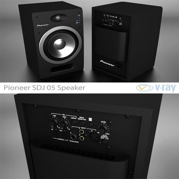 Pioneer S-DJ05 Speaker