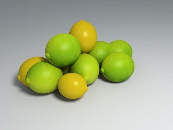 Lemons - 3DOcean Item for Sale