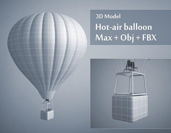 Hot-air Balloon - 3DOcean Item for Sale