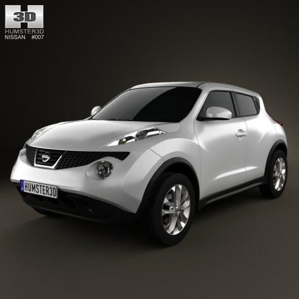 Nissan Juke 2011 - 3DOcean Item for Sale