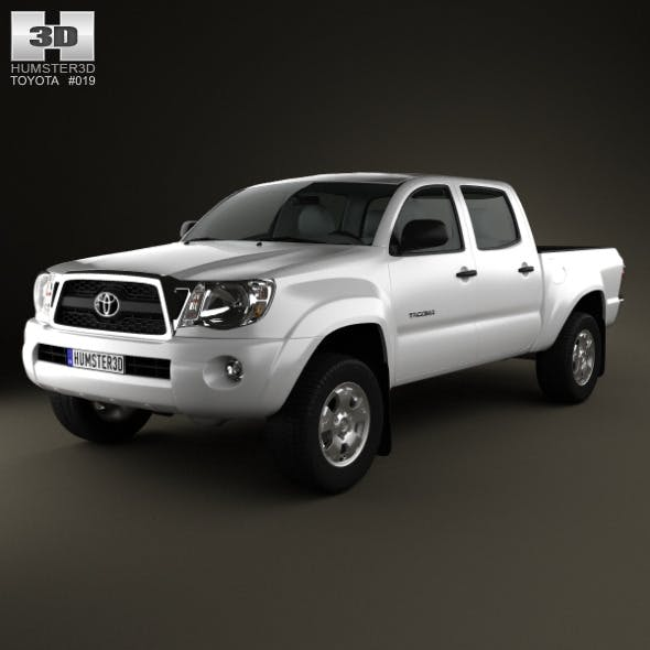 Toyota Tacoma Double Cab 2011 - 3DOcean Item for Sale