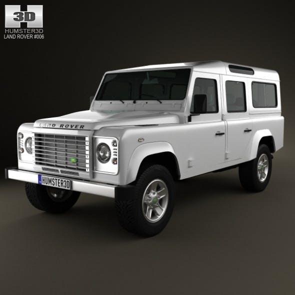 Land Rover Defender 110 Station Wagon 2011 - 3DOcean Item for Sale