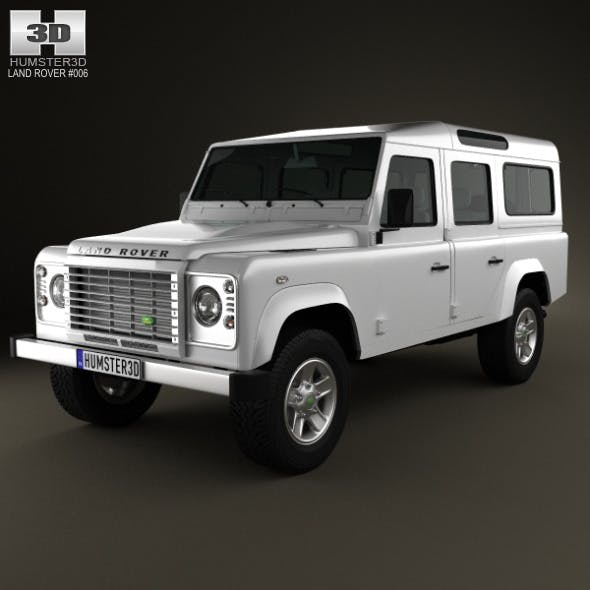 Land Rover Defender 110 Station Wagon 2011