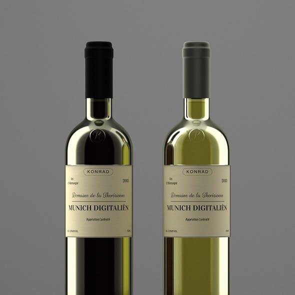 Photoreal Wine Bottles
