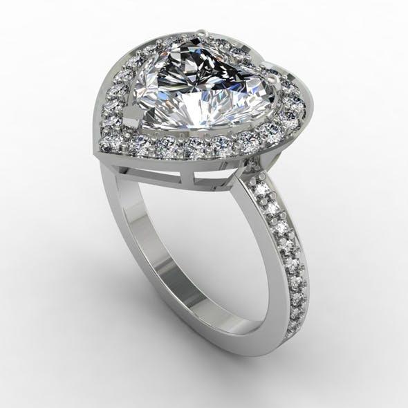 NR Design Aphrodite Diamond Ring - 3DOcean Item for Sale
