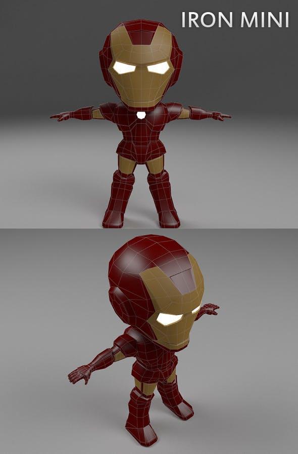 Iron Mini - 3DOcean Item for Sale
