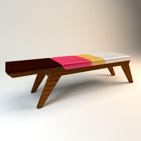 Modern Bench - 3DOcean Item for Sale