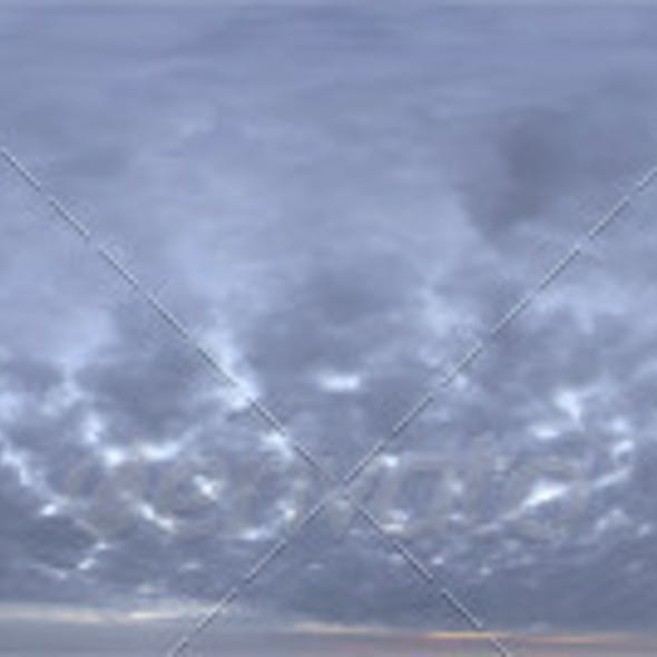 Skydome HDRI - Dusk Clouds II