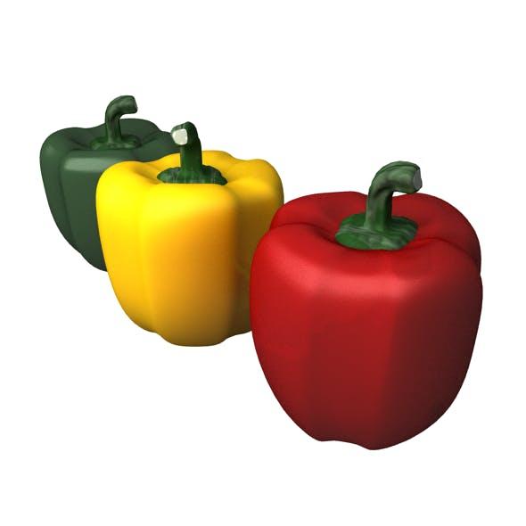 Bell Pepper - 3DOcean Item for Sale