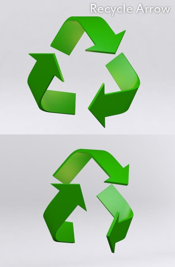 Recycle Arrow  - 3DOcean Item for Sale