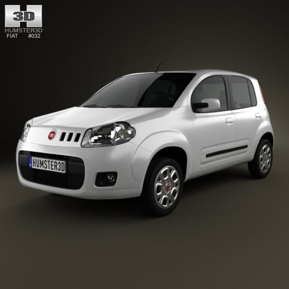 Fiat Uno Attractive hatchback 5-door 2013
