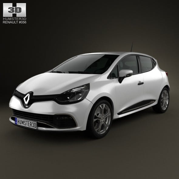 Renault Clio IV RS 2013 - 3DOcean Item for Sale