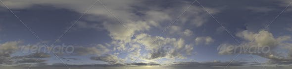 Skydome HDRI - Sunset Clouds III - 3DOcean Item for Sale