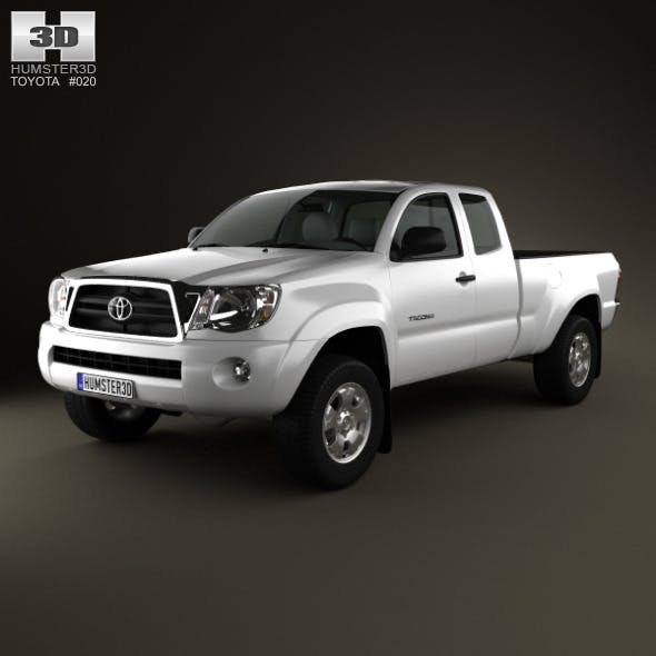 Toyota Tacoma Access Cab 2011 - 3DOcean Item for Sale