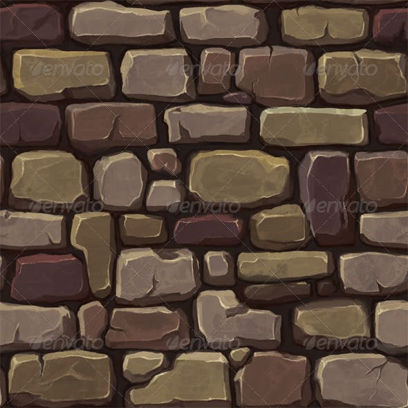 Stone Wall Texture 1 - 3DOcean Item for Sale