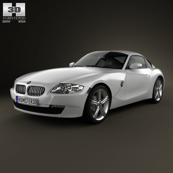 BMW Z4 (E85) coupe 2002 - 3DOcean Item for Sale