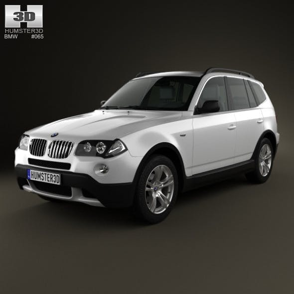 BMW X3 (E83) 2003 - 3DOcean Item for Sale
