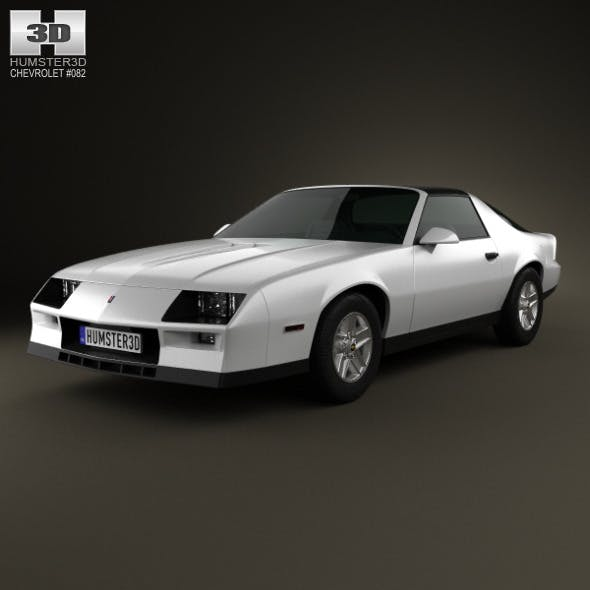 Chevrolet Camaro Z28 coupe 1982 - 3DOcean Item for Sale