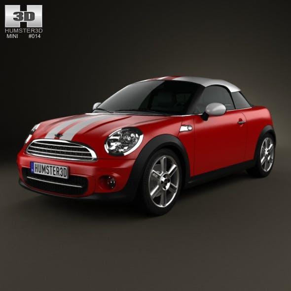 Mini Cooper coupe 2013 - 3DOcean Item for Sale