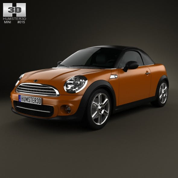 Mini Cooper roadster 2013 - 3DOcean Item for Sale
