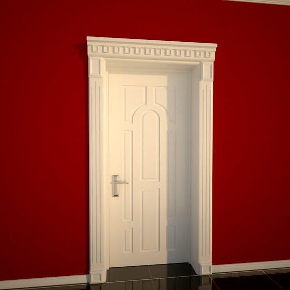 White Door - 3DOcean Item for Sale