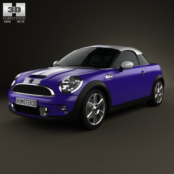 Mini Cooper S coupe 2013 - 3DOcean Item for Sale