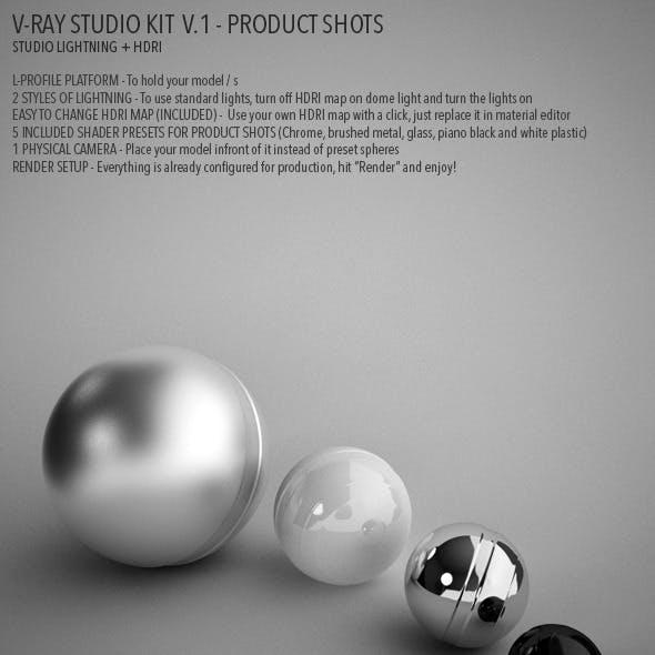 Vray Studio Setup v.1 - Product Shots