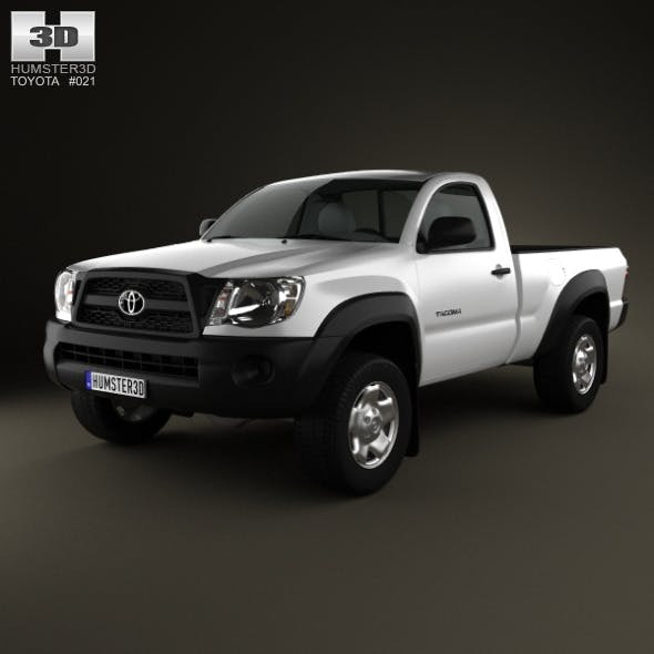 Toyota Tacoma Regular Cab 2011 - 3DOcean Item for Sale