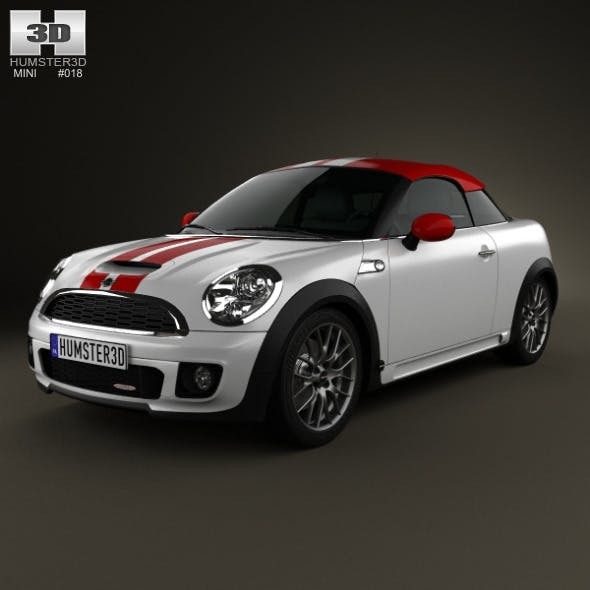 Mini John Cooper Works coupe 2013 - 3DOcean Item for Sale