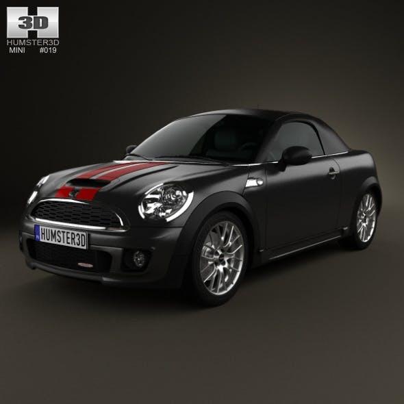 Mini John Cooper Works roadster 2013 - 3DOcean Item for Sale