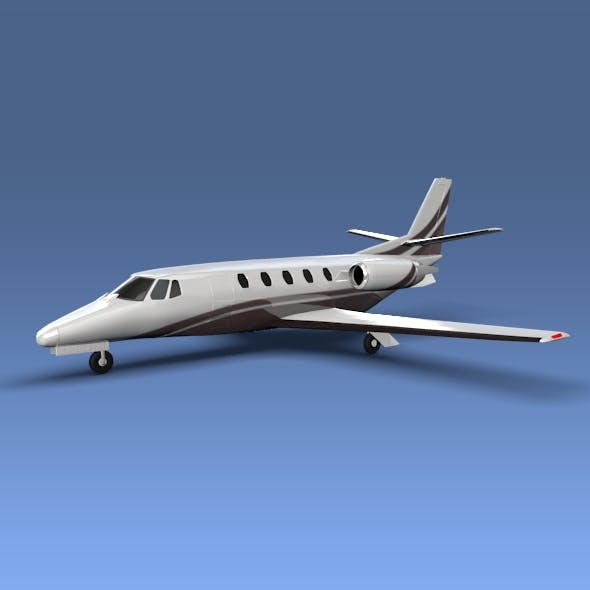 Cessna Citation xls+ private jet - 3DOcean Item for Sale