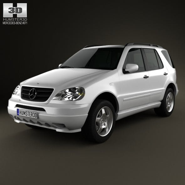 Mercedes-Benz M-Class (W163) 1997 - 3DOcean Item for Sale