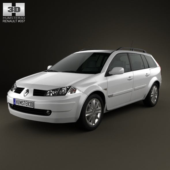 Renault Megane Grandtour 2003 - 3DOcean Item for Sale
