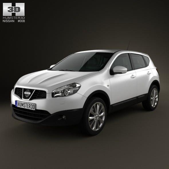 Nissan Qashqai 2010 - 3DOcean Item for Sale