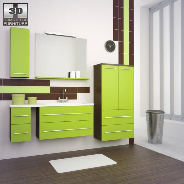 Bathroom furniture 03 Set - 3DOcean Item for Sale