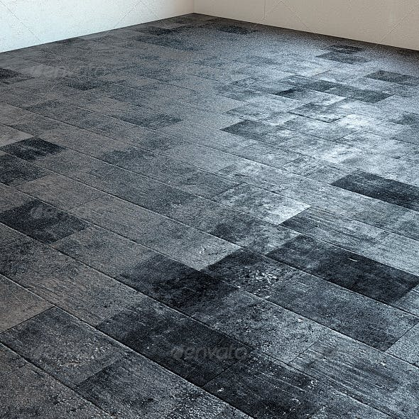 Rustic Anthracite Grey Marble