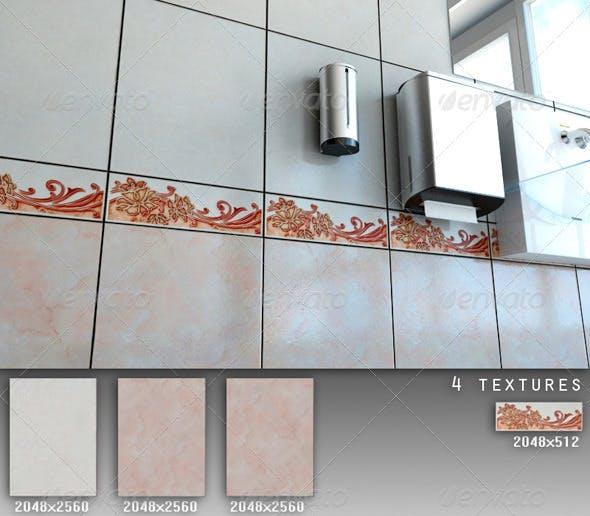 Professional Ceramic Tile Collection C041 - 3DOcean Item for Sale