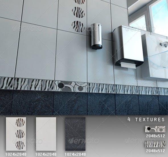 Professional Ceramic Tile Collection C044 - 3DOcean Item for Sale