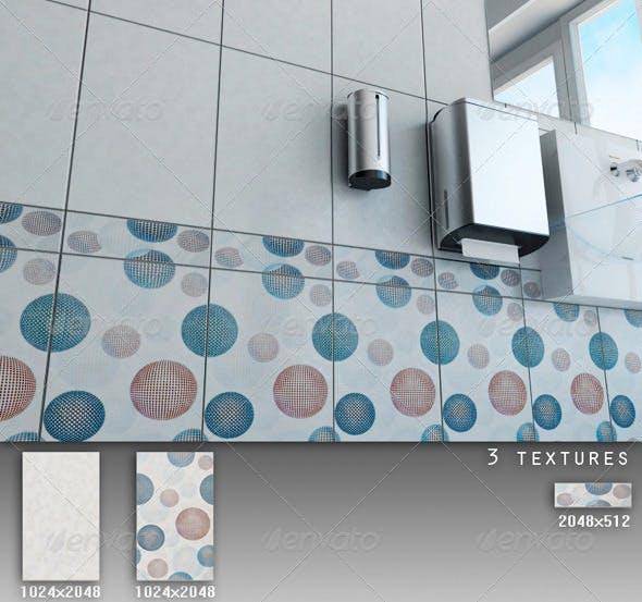 Professional Ceramic Tile Collection C049 - 3DOcean Item for Sale