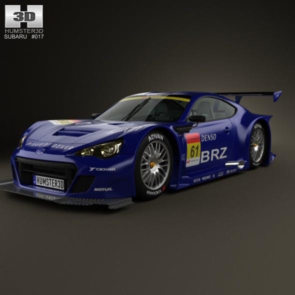 Subaru BRZ GT300 2013 - 3DOcean Item for Sale