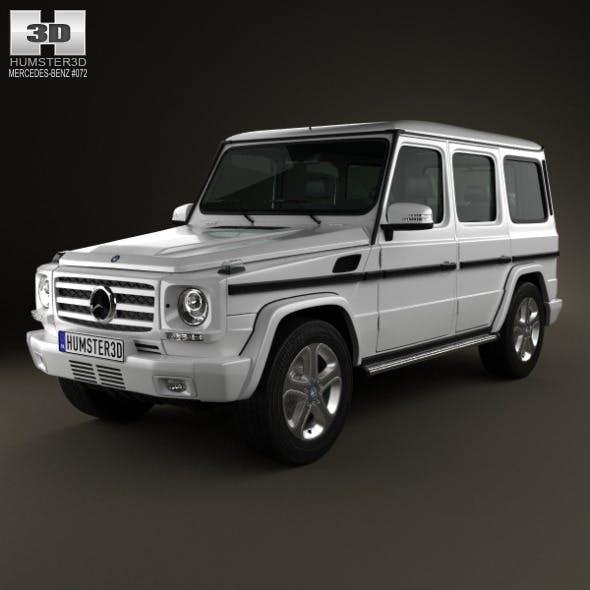 Mercedes-Benz G-Class 5-door 2013 - 3DOcean Item for Sale
