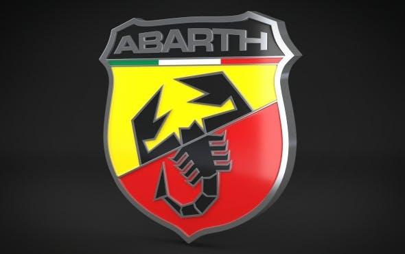 Abarth Logo - 3DOcean Item for Sale