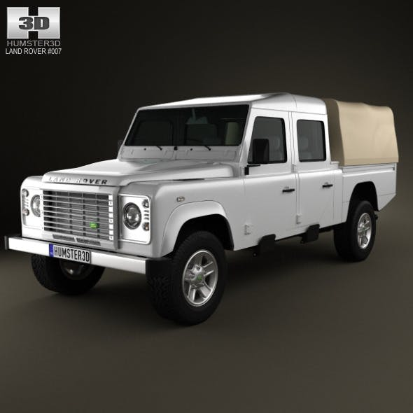Land-Rover Defender 130 High Capacity Double Cab - 3DOcean Item for Sale