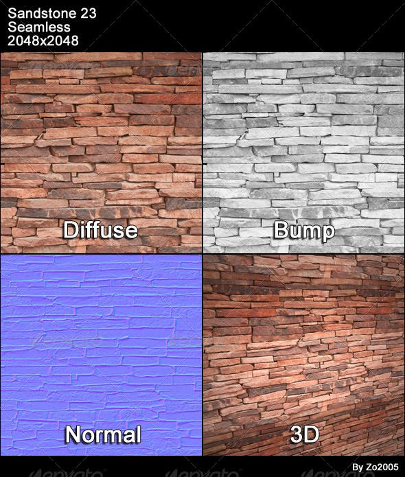 Sandstone Seamless Texture 23 - 3DOcean Item for Sale