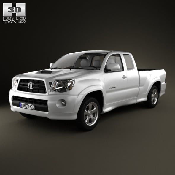 Toyota Tacoma XRunner 2011 - 3DOcean Item for Sale