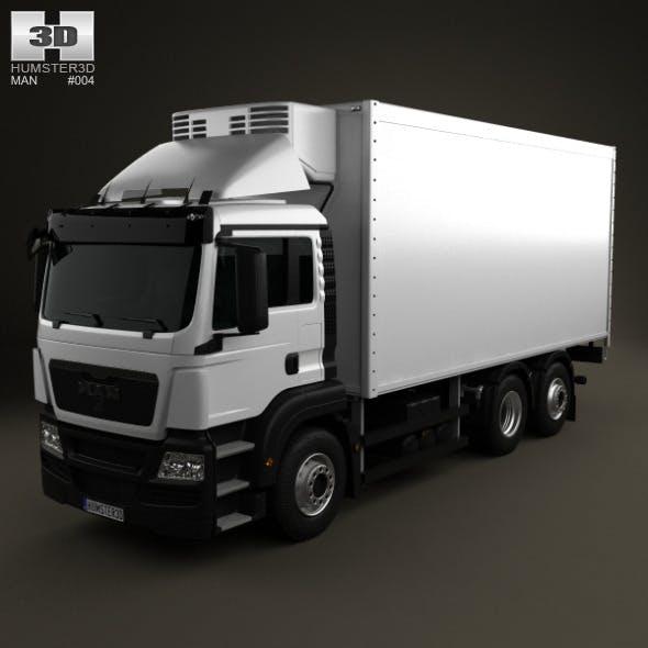 MAN TGS Refrigerator Truck 2012