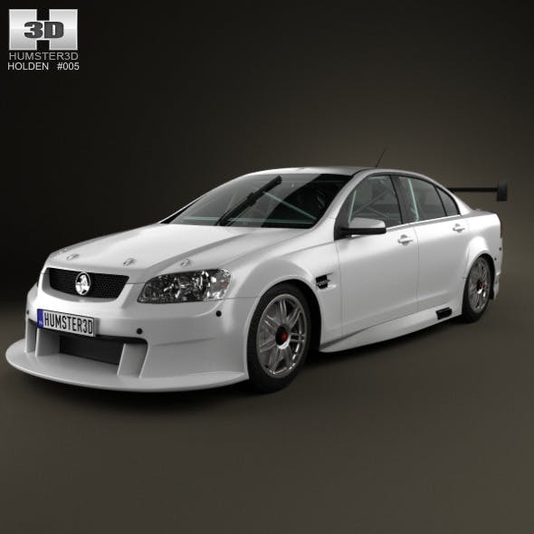 Holden Commodore V8 Supercar 2012 - 3DOcean Item for Sale